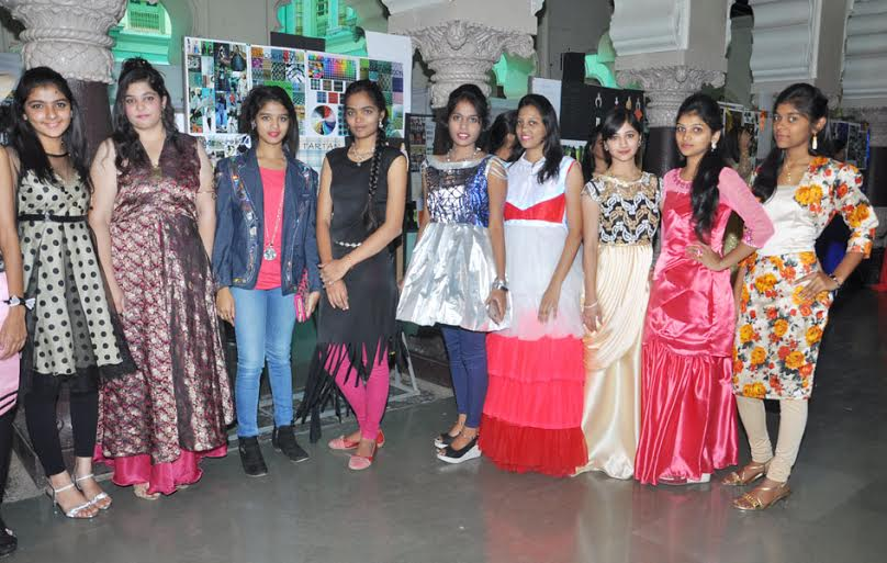 Dkte College Students Organise Exhibition In Fashion Designing Collegedekho