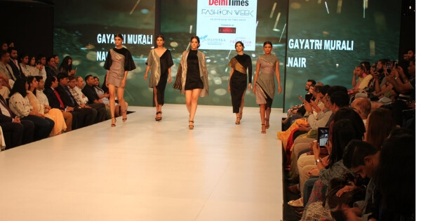 Gd Goenka School Of Fashion Design Showcases Gd Goenka Collettivo At Time Fashion Week Collegedekho