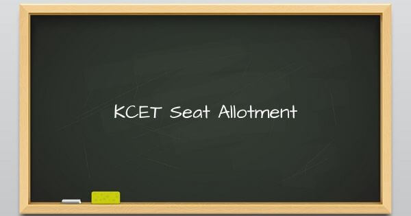 KCET Seat Allotment