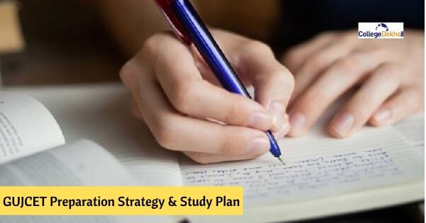 GUJCET Study Plan and Timetable
