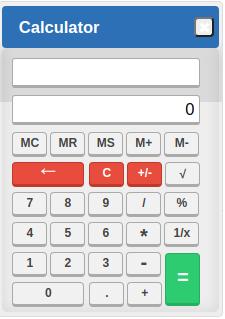 CAT OnScreen Calculator