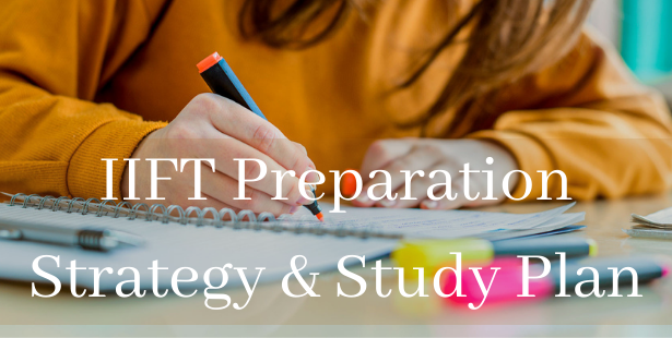 IIFT Preparation Strategy & Study Plan Banner