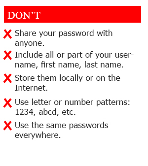 Don'ts for MAH MBA/ MMS CET 2021 Password