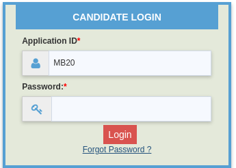 MAH MBA/ MMS CET Password Reset Step 3